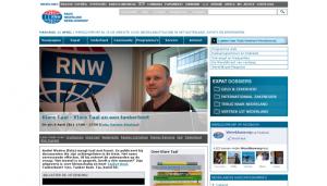 Tanker Boot bij Radio Nederland Wereldomroep